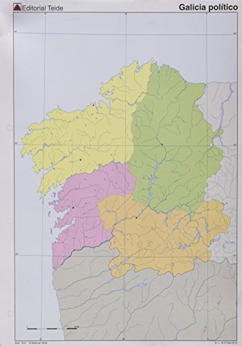 9788430772315: Galicia político 4+0 - 9788430772315