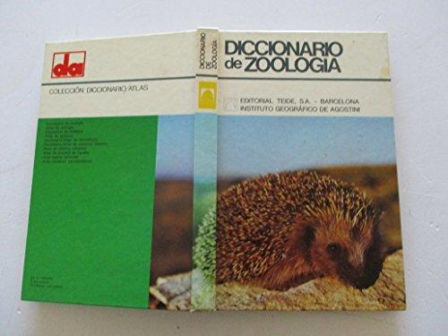 Diccionario de zoología.: Parenti, Umberto.