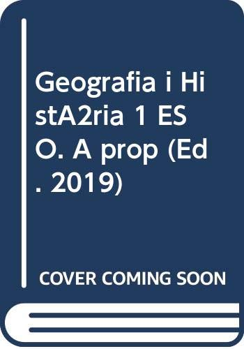 9788430783205: Geografia i Història 1 ESO. A prop (Ed. 2019)