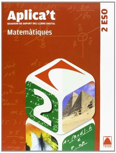 9788430788521: Aplica't. Quadern de suport al llibre digital. Matemàtiques 2n ESO - 9788430788521