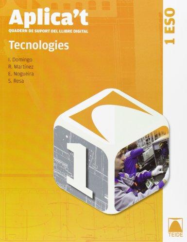 9788430788729: Aplica't. Quadern de suport al llibre digital. Tecnologies 1er ESO - 9788430788729
