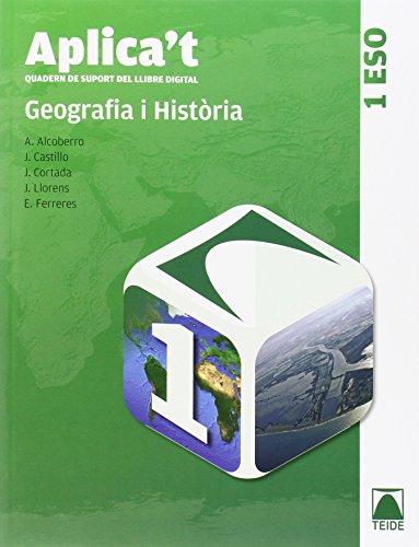 9788430788767: Aplica't. Quadern de suport al llibre digital. Geografia i història 1er ESO - 9788430788767
