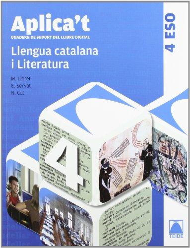 9788430789443: Aplica't. Quadern de suport del llibre digital. Llengua catalana 4t ESO - 9788430789443