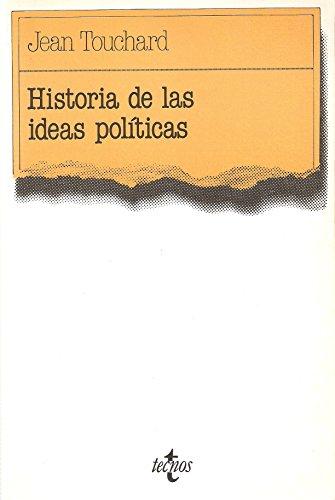 9788430907342: Historia de las ideas politicas (Ciencia Politica)