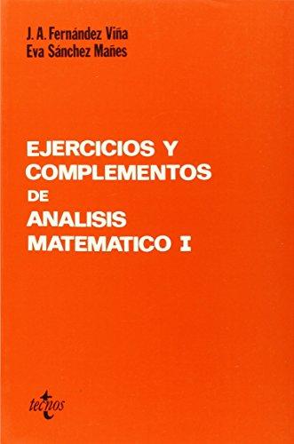 9788430908035: Ejercicios y complementos de análisis matemático / Exercises and complements of mathematical analysis (Matemática / Math) (Spanish Edition)
