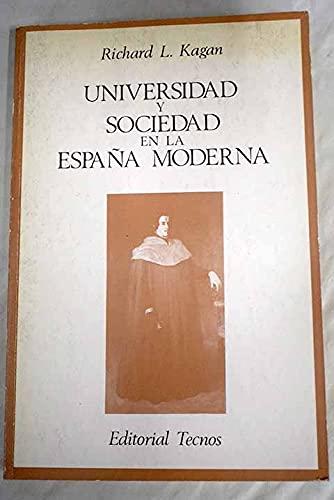 9788430908646: Universidad y sociedad en la España moderna
