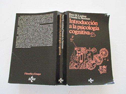 INTRODUCCION A LA PSICOLOGIA COGNITIVA: LINDSAY, Peter H. y NORMAN, Donald A.