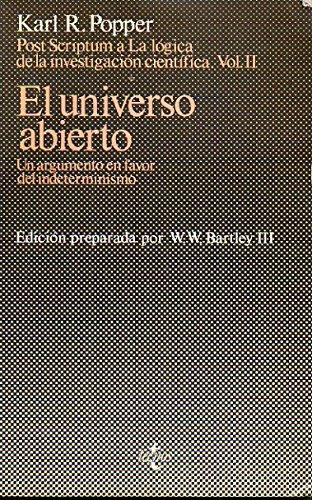 9788430910595: Universo Abierto, El (Spanish Edition)