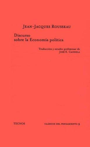 9788430911615: Discurso sobre la economia politica (Clasicos)