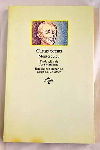 9788430912438: Cartas persas (Historica (ediciones B))