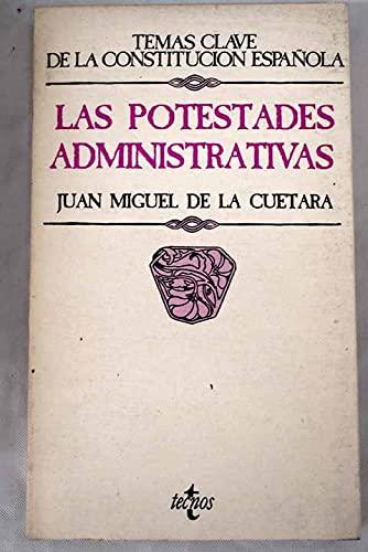 9788430913503: Las potestades administrativas