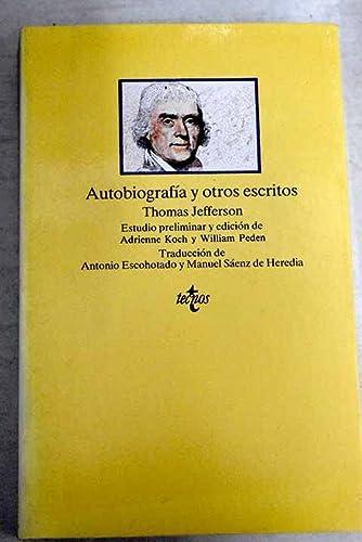 9788430914678: Autobiografia y otros escritos/ Autobiography and other writings (Spanish Edition)