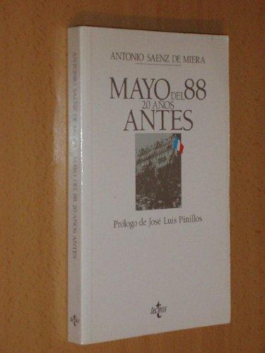 9788430916405: Mayo del 88: 20 años antes (Spanish Edition)