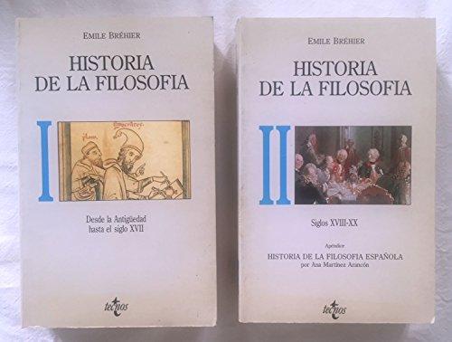 9788430916467: Historia de La Filosofia - 2 Tomos (Portuguese Edition)