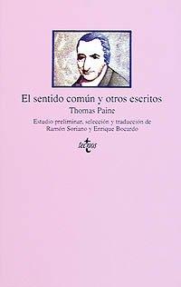 9788430918188: El sentido comun y otros escritos / Common Sense and other Writings (Clasicos Del Pensamiento / Classics of Thought) (Spanish Edition)