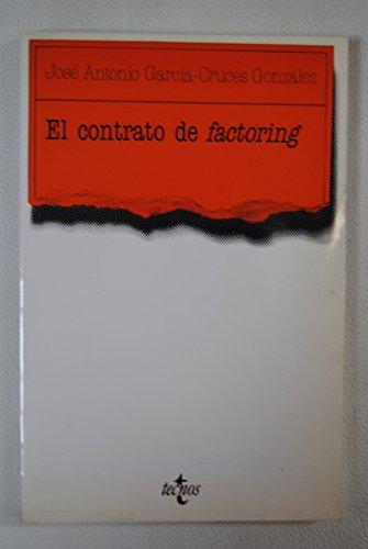 9788430918607: El contrato de factoring