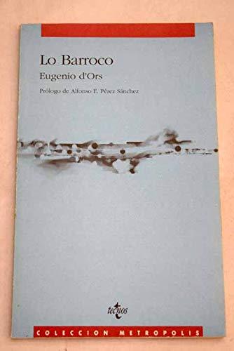 Lo Barroco: D ORS, Eugenio