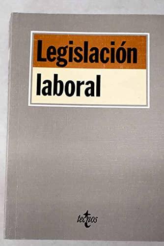 LEGISLACIÓN LABORAL: Edición Preparada Por