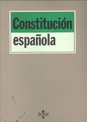 9788430924776: Constitución española (Biblioteca de textos legales) (Spanish Edition)