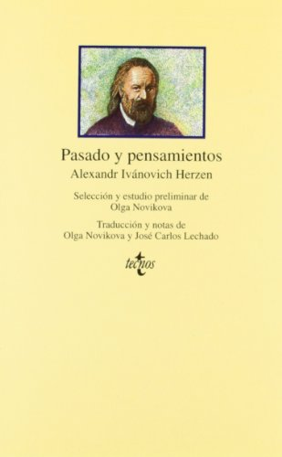 9788430925230: Pasado y pensamientos/ Past and Thoughts (Spanish Edition)