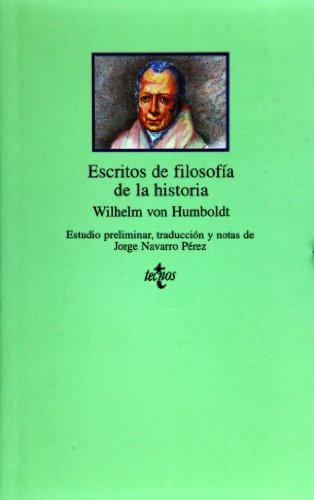 9788430929870: Escritos de filosofía de la historia (Clásicos - Clásicos Del Pensamiento)