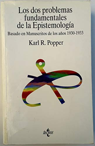 9788430932528: Los Dos Problemas Fundamentales De La Epistemologia / Two Fundamental Problems of Epistemology: Basado En Manuscritos De Los Anos 1930-1933 (Filosofia) (Portuguese Edition)