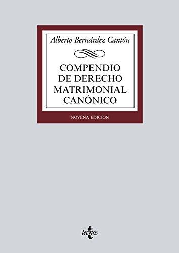 9788430932849: Compendio de derecho matrimonial canonico / Compendium of Canonical Marriage Law (Spanish Edition)