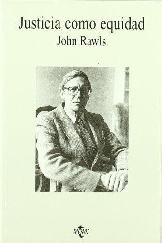 9788430933808: Justicia Como Equidad / Justice As Fairness: Materiales Para Una Teoria De La Justicia (Filosofia) (Spanish Edition)