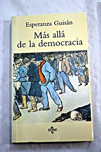 9788430934751: Mas alla de la democracia (Ventana Abierta)