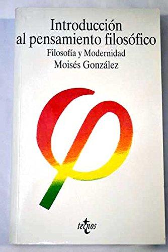 9788430935871: Introduccion al pensamiento filosofico - 5ª ed. 2000 - (Filosofia)