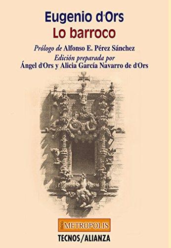 9788430937646: Lo Barroco / Baroque (Metropolis) (Spanish Edition)
