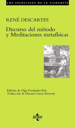9788430937967: Discurso del método y Meditaciones metafísicas (Filosofía - Los esenciales de la Filosofía)