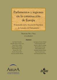 Parlamentos y regiones en la construcción de: Pau i Vall,