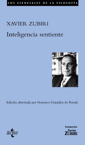 9788430941070: Inteligencia sentiente (Filosofía - Los Esenciales De La Filosofía)