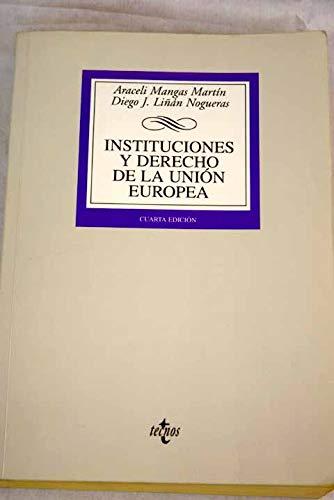 9788430941902: Instituciones Y Derecho De La Union Europea (Spanish Edition)