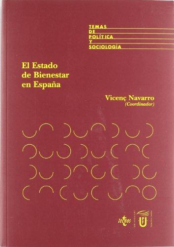 9788430941988: El estado del bienestar en Espana / The welfare state in Spain (Derecho) (Spanish Edition)