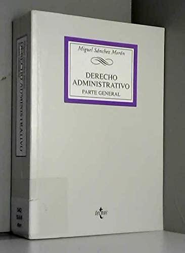9788430942626: Derecho administrativo / Administrative Law: Parte General (Spanish Edition)