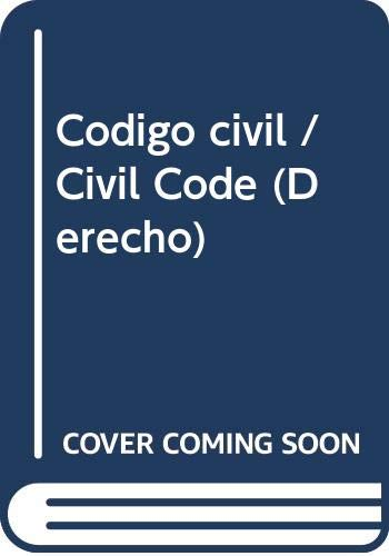 9788430942633: Codigo civil (Derecho)