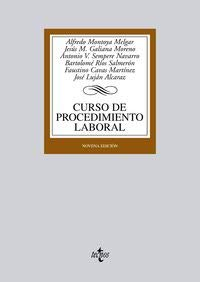 9788430942862: Curso de procedimiento laboral / Course of work procedure (Derecho) (Spanish Edition)