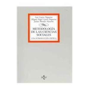 9788430943302: Metodologia de las ciencias sociales