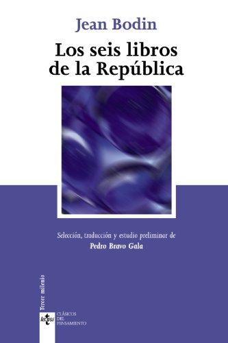 9788430943678: Los seis libros de la República (Clásicos - Clásicos Del Pensamiento)