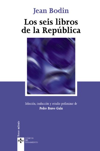 9788430943678: Los seis libros de la Republica/ The Six Books of the Republic
