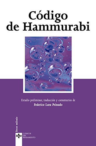 9788430944187: Código de Hammurabi (Clásicos - Clásicos Del Pensamiento)