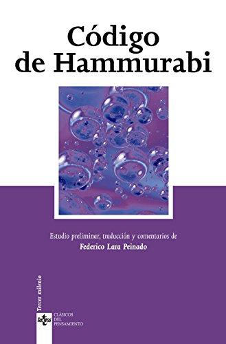 Codigo de hammurabi / Code of Hammurabi