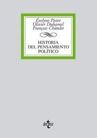 HISTORIA DEL PENSAMIENTO POLÍTICO: François Châtelet, Evelyne Pisier-Kouchner, Olivier ...