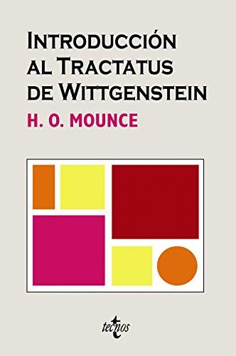 9788430946099: Introduccion al Tractatus de Wittgenstein / Wittgenstein's Tractatus. An Introduction (Cuadernos De Filosofia Y Ensayo / Philosophy and Essays Notebooks) (Spanish Edition)