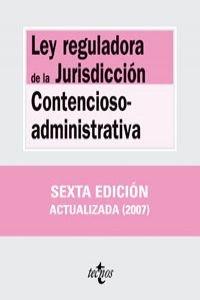9788430946341: Ley reguladora de la Jurisdicción Contencioso-admi