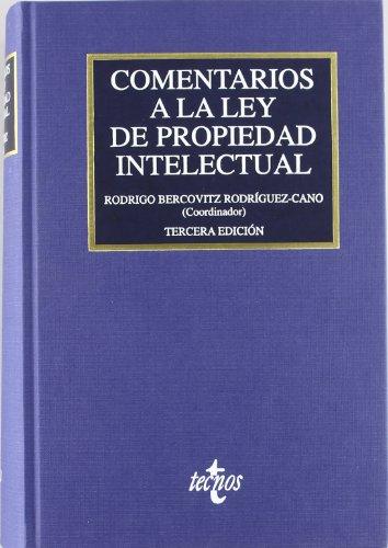 9788430946402: Comentarios a la Ley de Propiedad Intelectual / Comments on the Law of Intelectual Property (Spanish Edition)