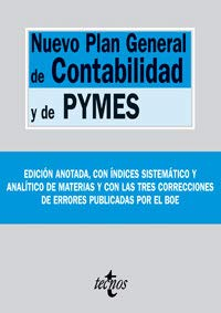 9788430946907: Nuevo Plan General de Contabilidad y de Pymes/ New General Plan of Acounting and Pymes (Spanish Edition)