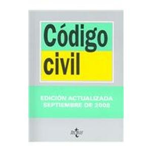9788430947348: Codigo civil/ Civil Code (Biblioteca de textos legales/ Legal Texts Library) (Spanish Edition)